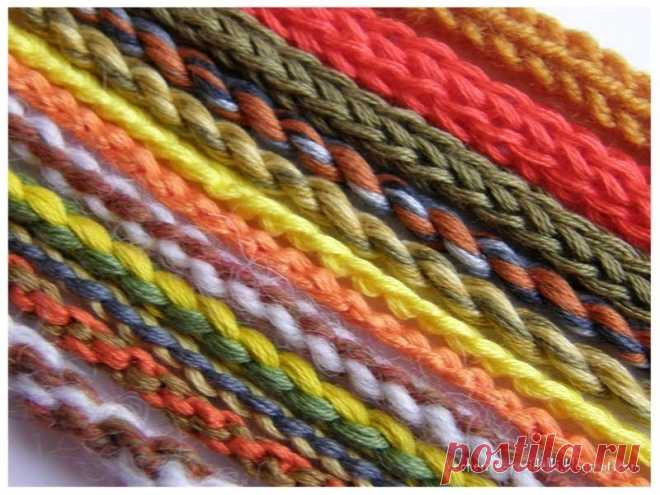 Способы плетения шнуров Блог о рукоделии, вышивке крестиком и гладью, шитье, пэчворке...