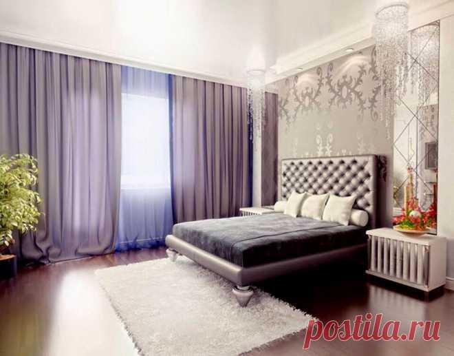 Спальня арт-деко - 120 фото новинок современного дизайна