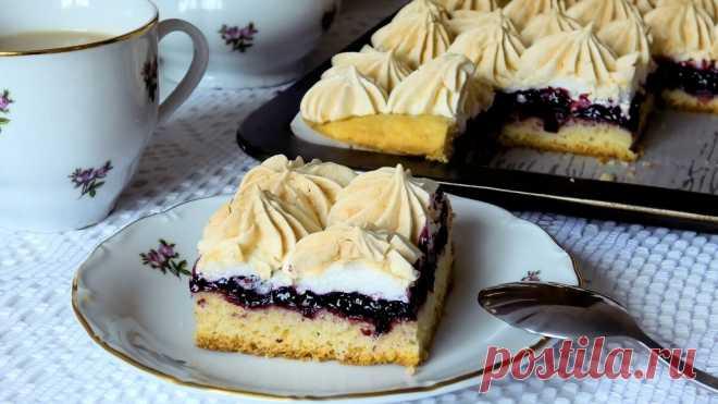 Такой пирог заменит вам торт! А готовить проще простого | ПРОСТОРЕЦЕПТ | Яндекс Дзен