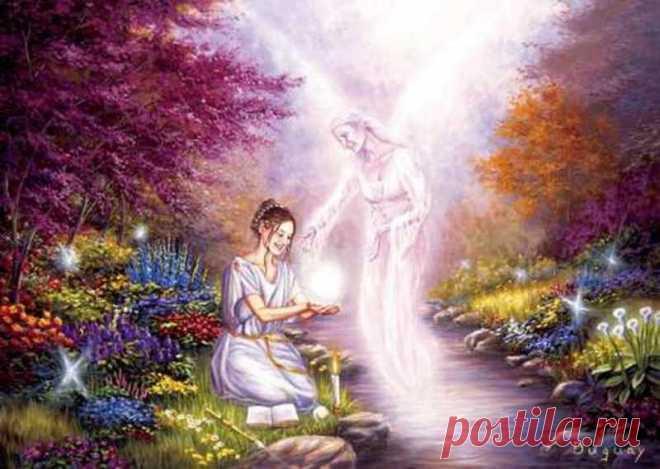 божественный сад картинки органично