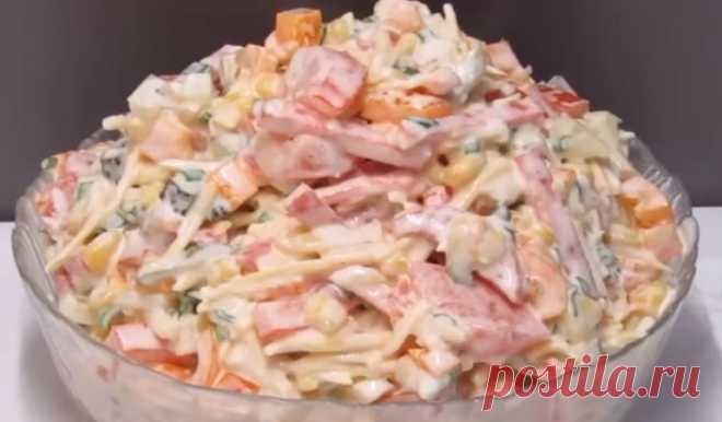 Интересный салат «Мексика»: вкуснятина из доступных продуктов