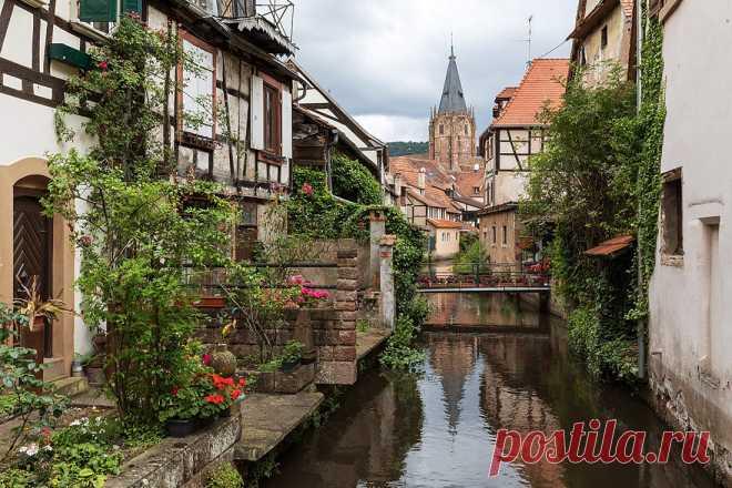Виссембург: маленький французский городок с большой историей