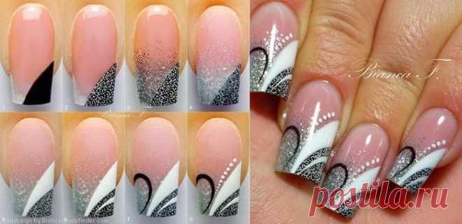 дизайн ногтей для начинающих пошагово фото 5