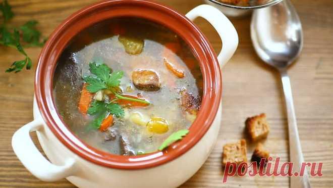 Генуэзский грибной суп. Необычный, ароматный и очень вкусный | Еда без труда | Яндекс Дзен