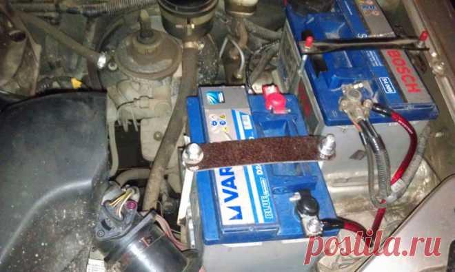 Как установить и подключить второй аккумулятор в машине