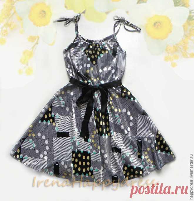 Шьём красивое летнее платье