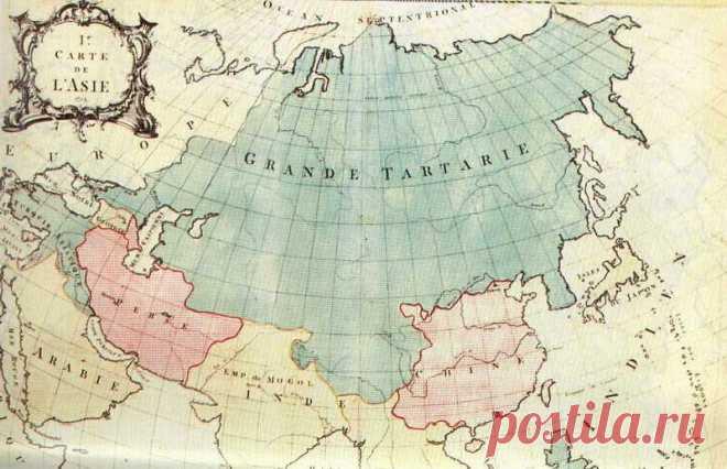 Земля Тарха и Тары. Великая Тартария. — Славянская культура