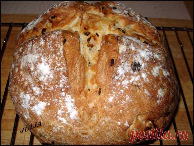 Хлеб с жаренным луком - Сладкая жизнь