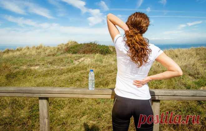 Упражнения для укрепления поясницы и здоровья почек: всего 5 минут в день. Здоровым быть легко.