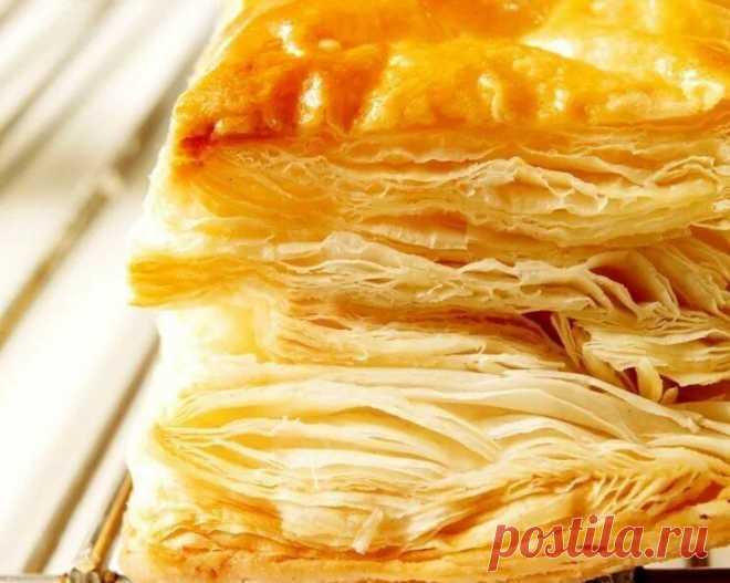 Слоёное домашнее тесто: для пирожков, самсы, тортов и прочей выпечки – несколько особенных секретов   Рекомендательная система Пульс Mail.ru