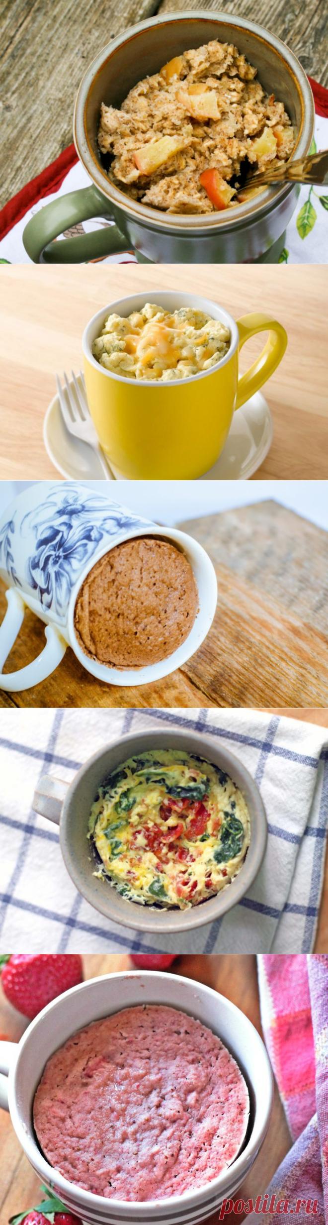 5 рецептов на завтрак, которые можно приготовить в микроволновке