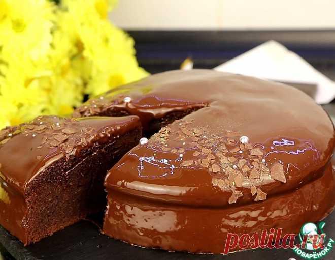 "Шоколадный пирог ""Дабл"" – кулинарный рецепт"
