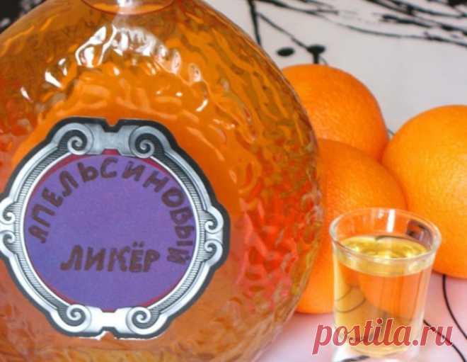 Ликер апельсиновый – кулинарный рецепт