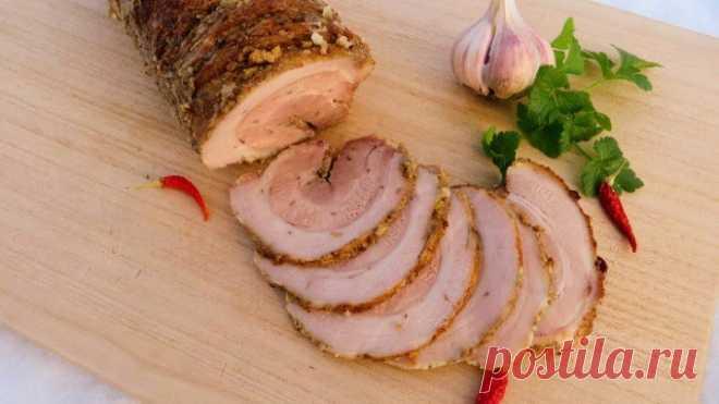 Теперь готовить буду только так / Вкуснейшая грудинка в духовке - вместо колбасы