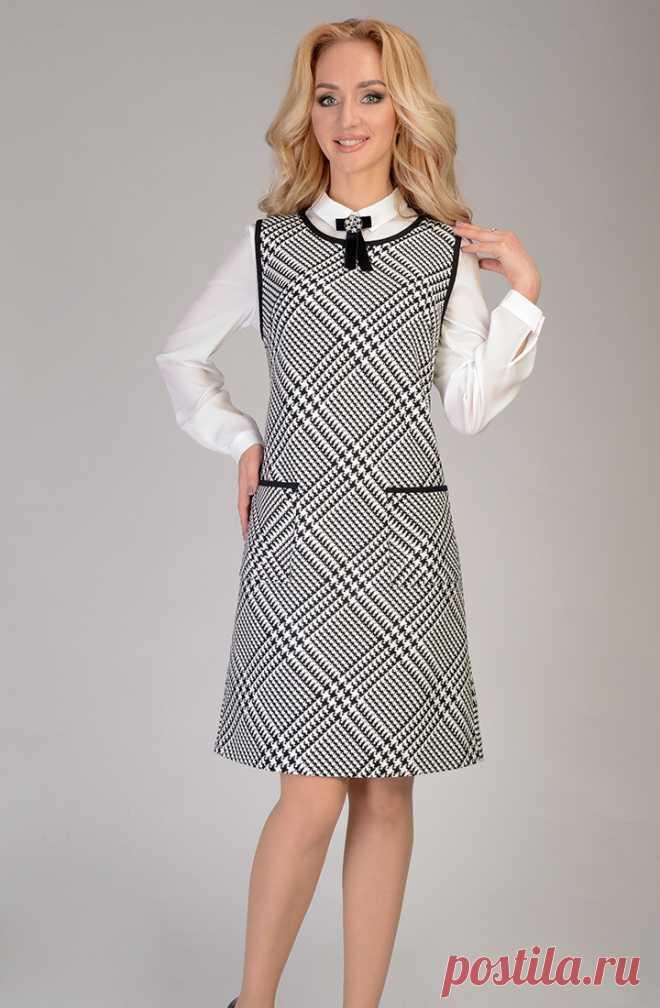Сарафан Open Fashion PREMIUM 260-159  купить в Москве в розницу недорого в  интернет 4177b45092eb6