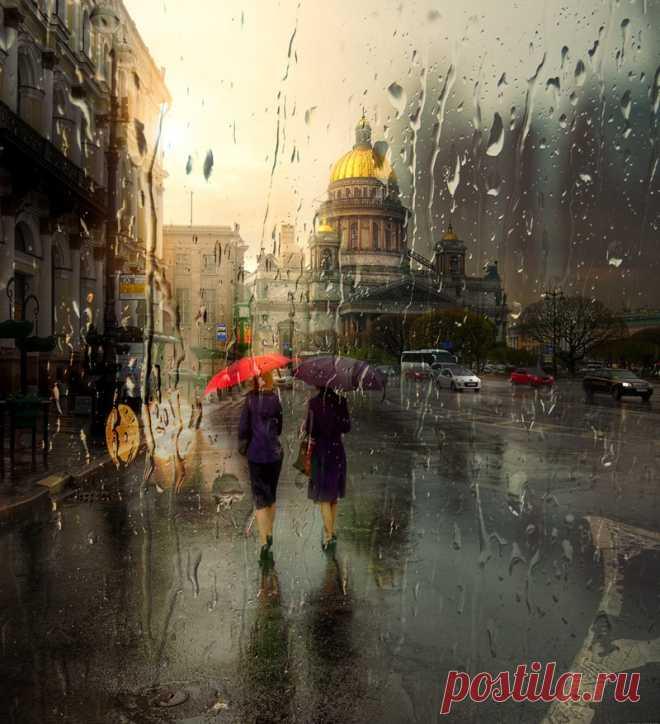 Rainy Saint Petersburg In Photographic Artworks By Eduard Gordeev