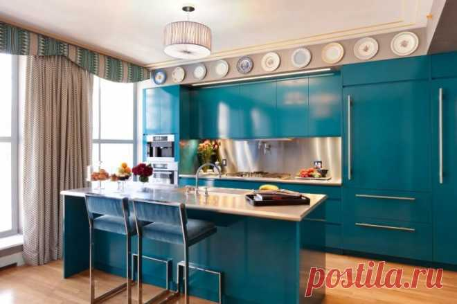 15 bright and stylish interiors of kitchen which will inspire on courageous experiments