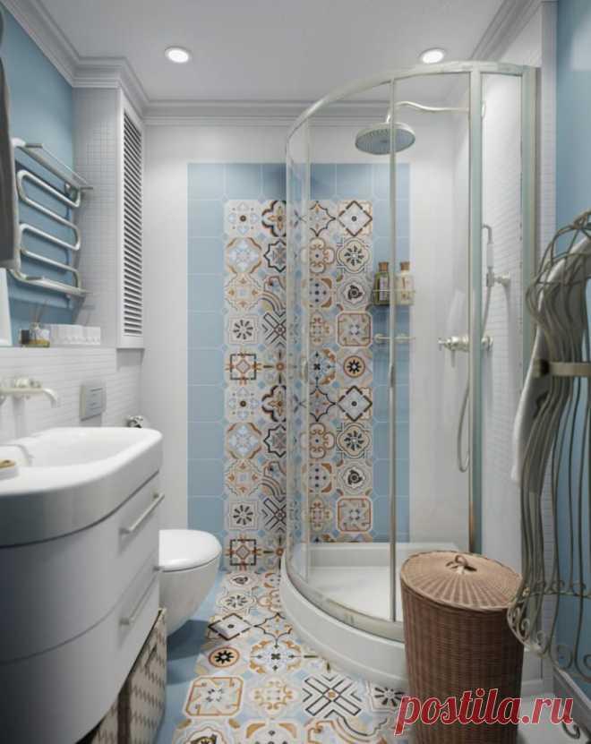 Современный дизайн маленькой ванной комнаты: лучшие фото и идеи