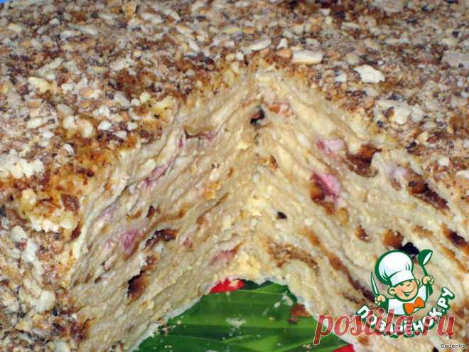 """Торт слоеный сливочный """"Сашка"""" Автор: GadenKa"""