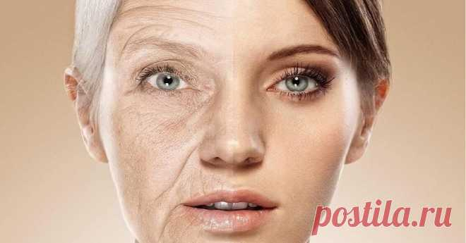 Anti-aging diet for stimulation of production of collagen. Products on guards of beauty and youth.