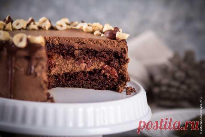 Шоколадный торт с вишнями - Любопытный повар — LiveJournal