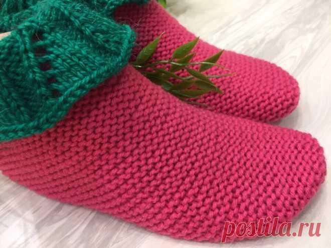Тапочки носочки Ягодки. Новая модель в коллекцию   Вязание и Рукоделие   Яндекс Дзен