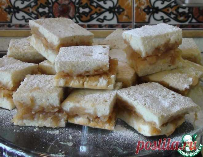 Яблочные пирожные – кулинарный рецепт