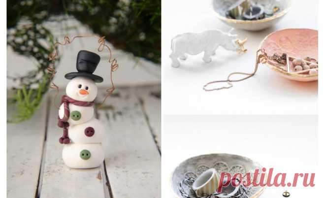 DIY: декор из полимерной глины Удивительные поделки из полимерной глины: 5 идей для новичков, любителей и профессионалов.