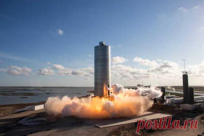 SpaceX планирует испытать корабль для полетов на Марс на высоте 18 км