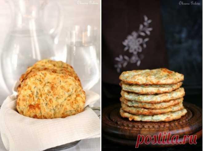 Быстрые сырные лепешки с зеленью: любимое блюдо моей семьи!.