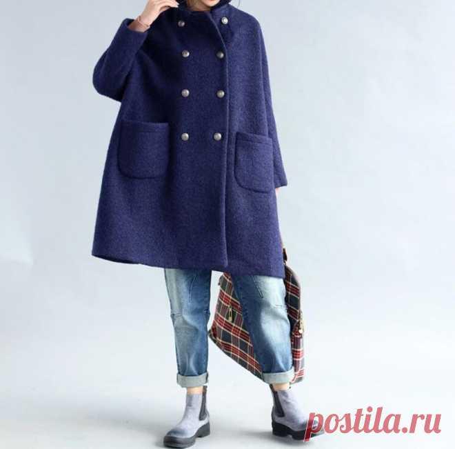 Women wool overcoat Wool winter Coat double breasted Coat | Etsy