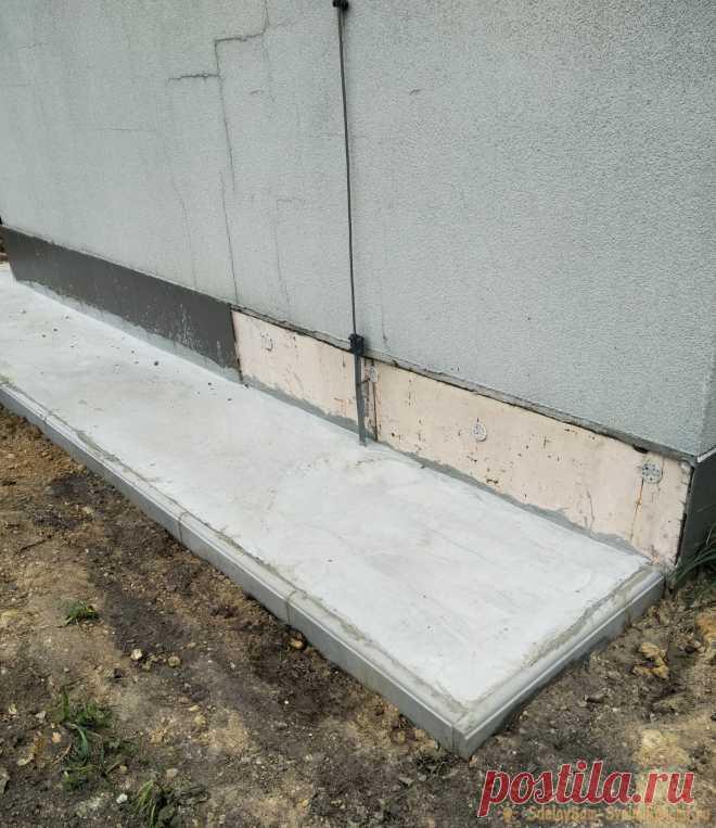 Как сделать отмостку отдельного строения Применение отмостки в строительстве отдельного стоящего строения – важный инженерный момент. Отмостка технического здания выполняет определенные функции. Положительные из них:- это придание прочности конструкции или стене сооружения; - это предупреждение преждевременного разрушения;- это