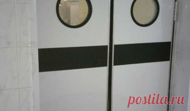 Купить маятниковые двери (двухстороннего открывания) в Минске   Маятниковая дверь, цена