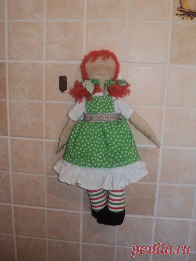 """Кукла """"Сонюшка""""-рыжее солнышко,кто ее в руки возьмет того счастье найдет!"""