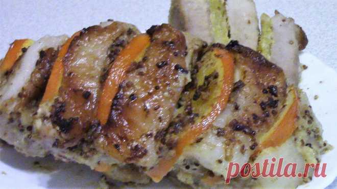 ¡La Carne de cerdo muy sabrosa con las Naranjas en el horno! ¡La idea perfumada, apetitosa para la cena hermosa! ¡Es fácil preparar! ¡Es fácil preparar la receta simple | con Liudmila! | Yandeks Dzen