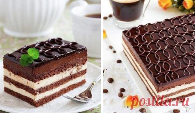 """Торт """"ОПЕРА"""": Нежное наслаждение для моих губ"""