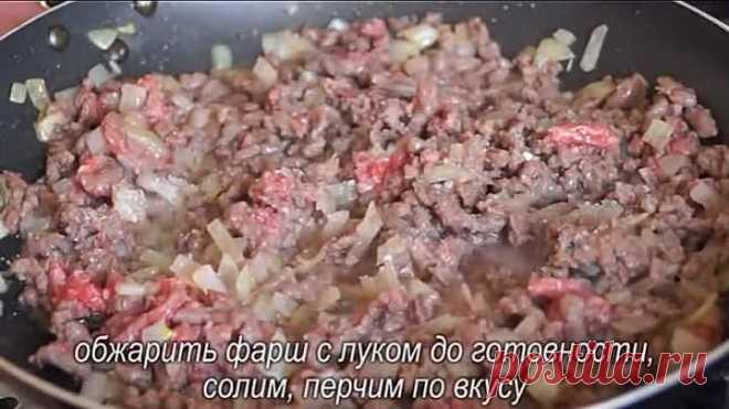 Нежные чебуреки из кабачков