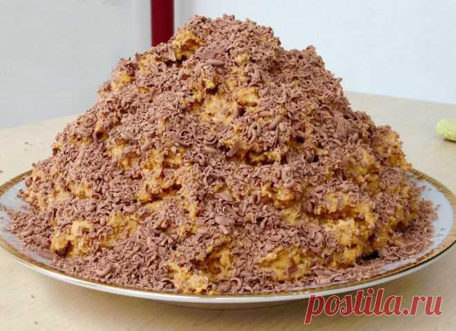Торт «Муравейник» за 10 минут | Самые вкусные кулинарные рецепты