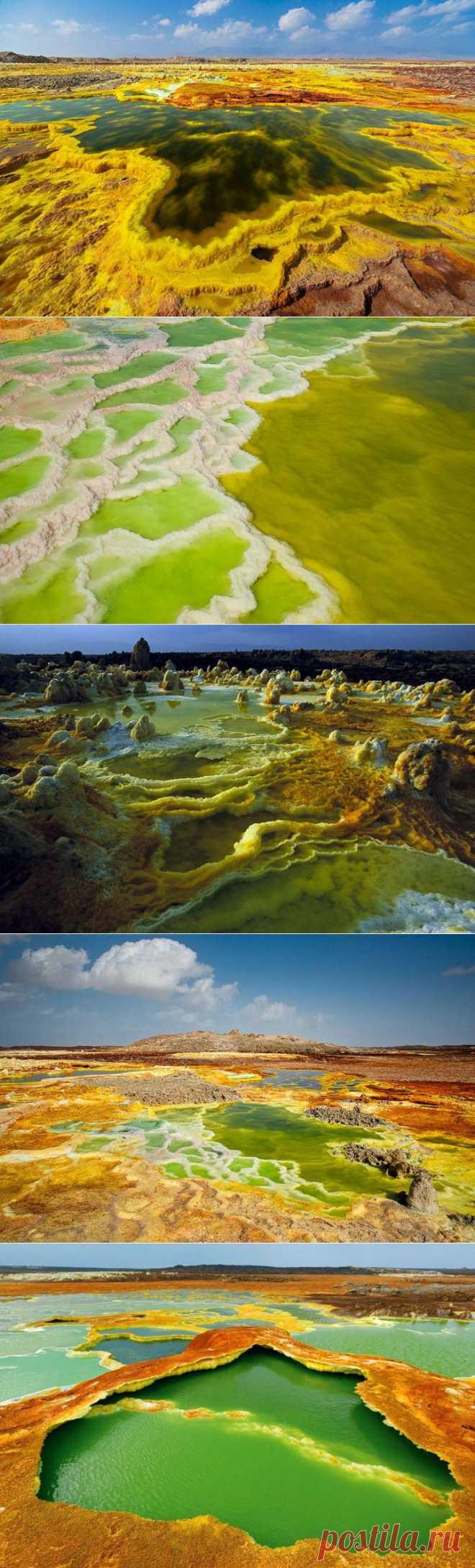 (+1) тема - Инопланетные пейзажи на Земле: вулкан Даллол (ФОТО) | САМЫЙ СОК!