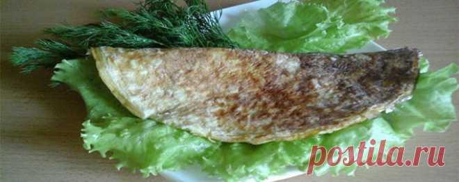 Овсяноблин с красной рыбой и творожным сыром - Диетический рецепт ПП с фото и видео - Калорийность БЖУ