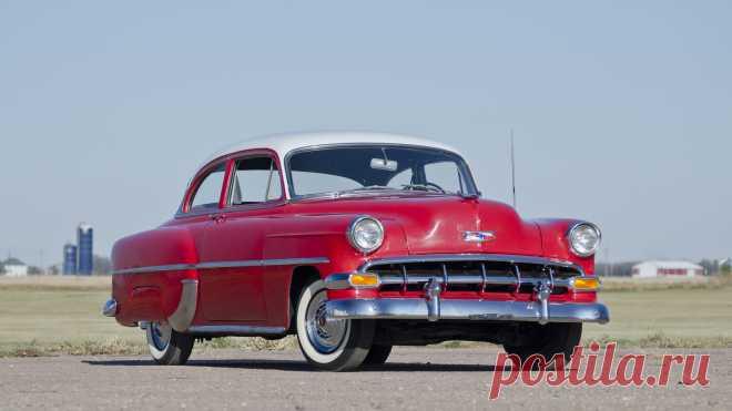 1954 Chevrolet 210   F82. 1   Чикаго 2015 / Аукционы Mecum 1954 Chevrolet 210 представлен как Лот F82. 1 в Шаумбурге, Иллинойс