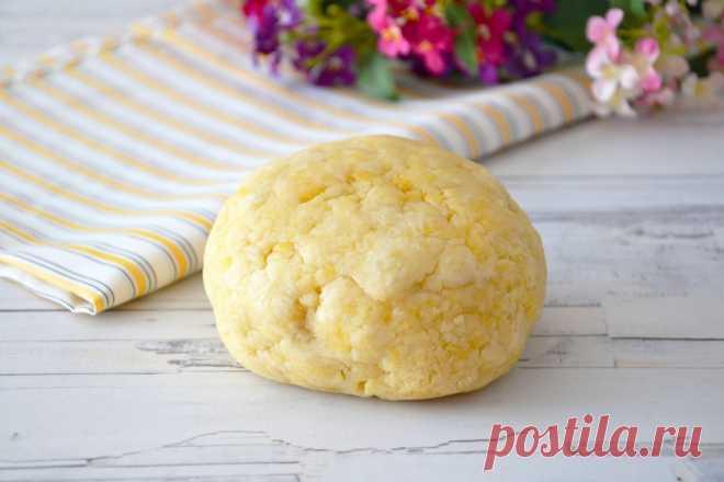 Песочное тесто на сметане рецепт с фото пошагово и видео - 1000.menu