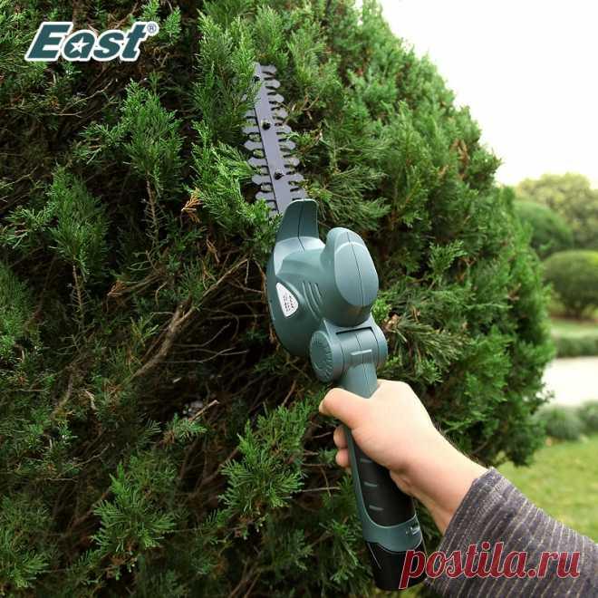 5153.85руб. 41% СКИДКА|East 10,8 V электрический триммер для изгороди 2 в 1 литий ионный беспроводной триммер для травы газонокосилка перезаряжаемые садовые секаторы ET1007C триммер садовый кусторез|garden power tools|cordless hedge trimmertrimmer grass cutter | АлиЭкспресс Покупай умнее, живи веселее! Aliexpress.com