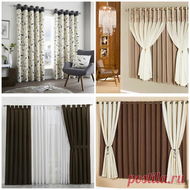 Cortinas modernas 2018 cortinas actuales para sala de for Cortinas de moda