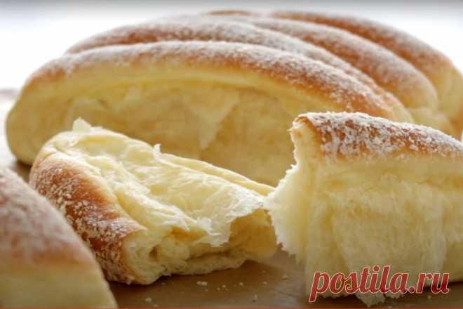 Простой рецепт хлеба в духовке на молоке и сухих дрожжах