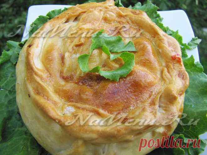 Мясной пирог: рецепт с фото