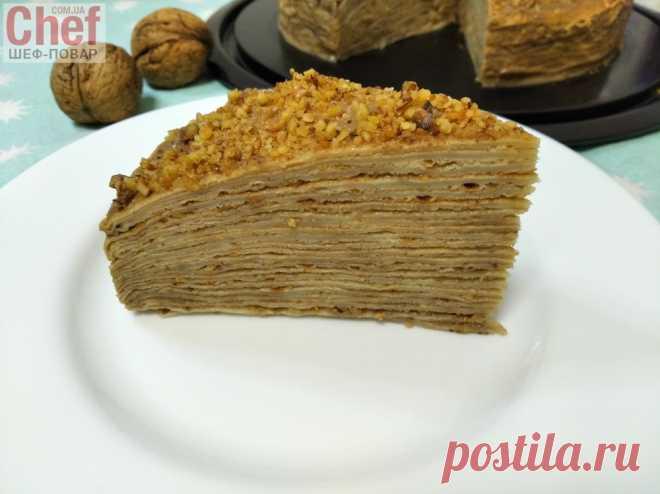 Торт блинный Капучино / Завтраки / Рецепты / Шеф-повар – простые и вкусные кулинарные рецепты, фото-рецепты, видео-рецепты