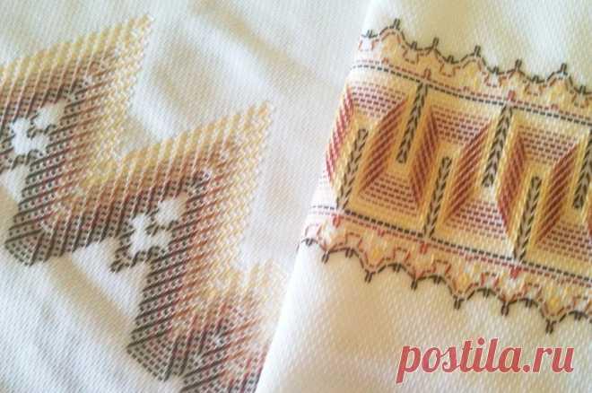 Простая и эффектная шведская вышивка (идеи и мастер-класс) | Рукоделие