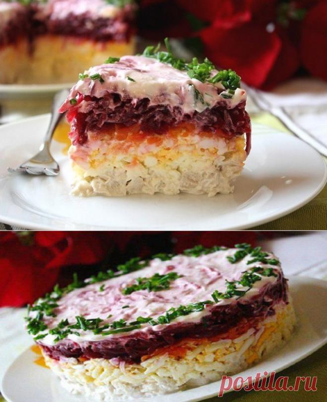 Свекольный салат «Генерал». Идеальное сочетание продуктов!