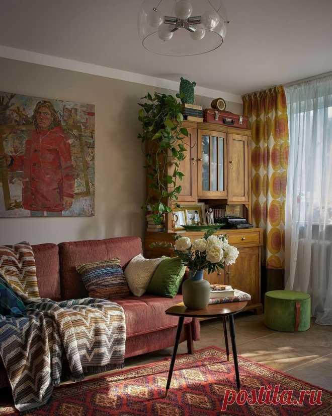 12 гостиных в хрущевках с замечательным дизайном   ИДЕИ ВАШЕГО ДОМА   Яндекс Дзен